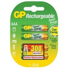 GP Smart Energy NiMH Rechargeable AAA 4, 400mAh