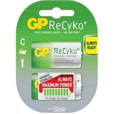 ReCyko+ NiMH Rechargeable Batteries, 2600mAh, 2 X C per Blister