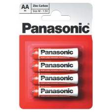 AA Panasonic Zinc Carbon - 4 Pack