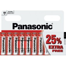 AA Panasonic Zinc Carbon - 10 Pack