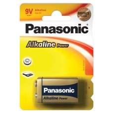9V PP3 Panasonic Alkaline Bronze Range - Single Pack