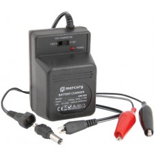 Plug-in 6/12V 500mA lead acid battery charger
