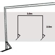 TrussLite Goal Post Kit 2 - 3000mm (W) x 2500mm (H)