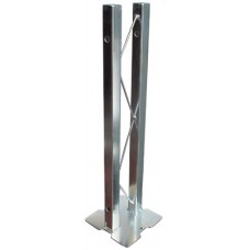 TrussLite Mid support footplate 500mm vertical with couplers & EZ pins