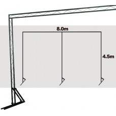 TrussLite Goal Post Kit 6 - 8000 (W) x 4500 (H)