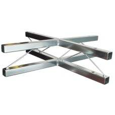 TrussLite horizontal cross piece (4 way) - 500mm x 500mm (accessories not included)