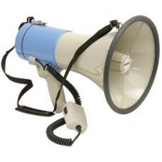 Megaphone, with siren, 25W max