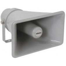 Heavy duty rectangular horn speakers, 100V line, 25W rms