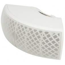 CB40V-W corner wall-mount background speaker - white