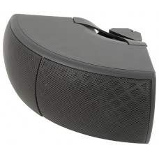 CB40V-B corner wall-mount background speaker - black