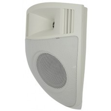 Pair CSP5V-W corner sound projector - white