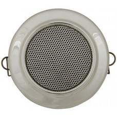Compact ceiling speaker, 100V line, chrome