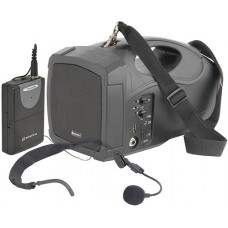 H25 handheld PA with headmic